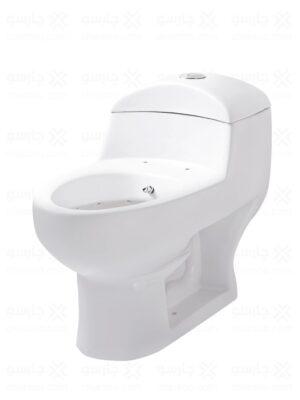 توالت فرنگی مینا مدل مارکیز بیده دار