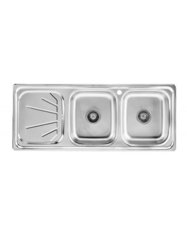 سینک ظرفشویی نیمه فانتزی توکار بیمکث مدل BS512