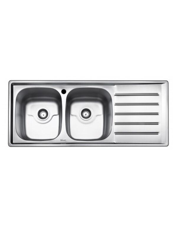 سینک ظرفشویی فانتزی توکار بیمکث مدل BS921