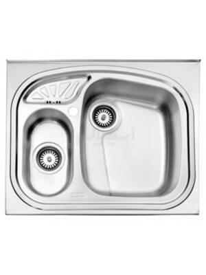 سينک ظرفشویی روکار استیل البرز مدل 605